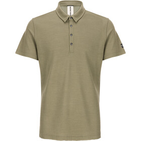 super.natural Piquet Polo Shirt Men bamboo